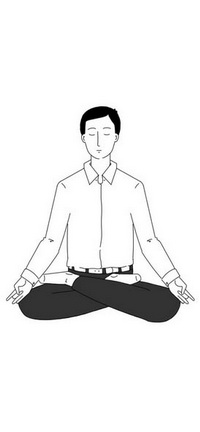 How does meditation work