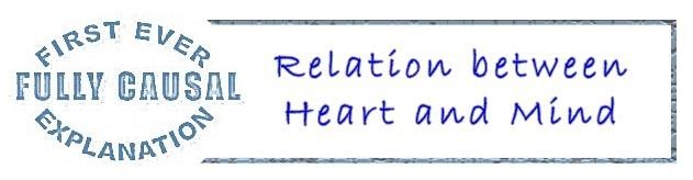 Relation between heart and mind