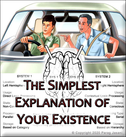 Simplest explanation of your existence